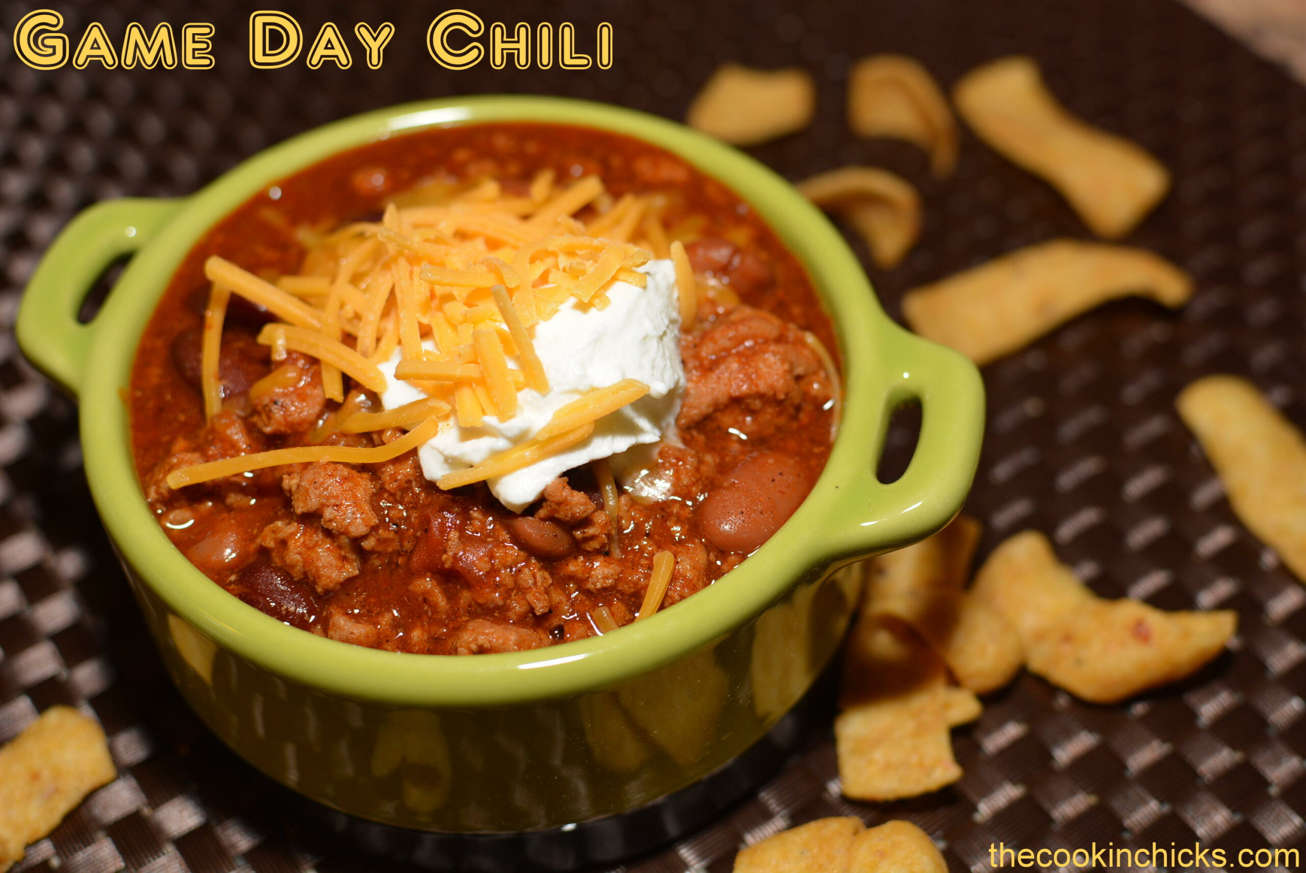 Game Day Chili | The Cookin Chicks