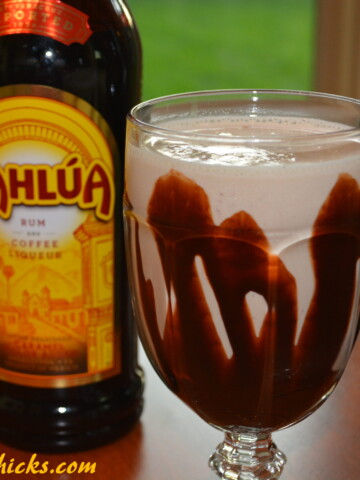 frozen mudslide that comes together in no time