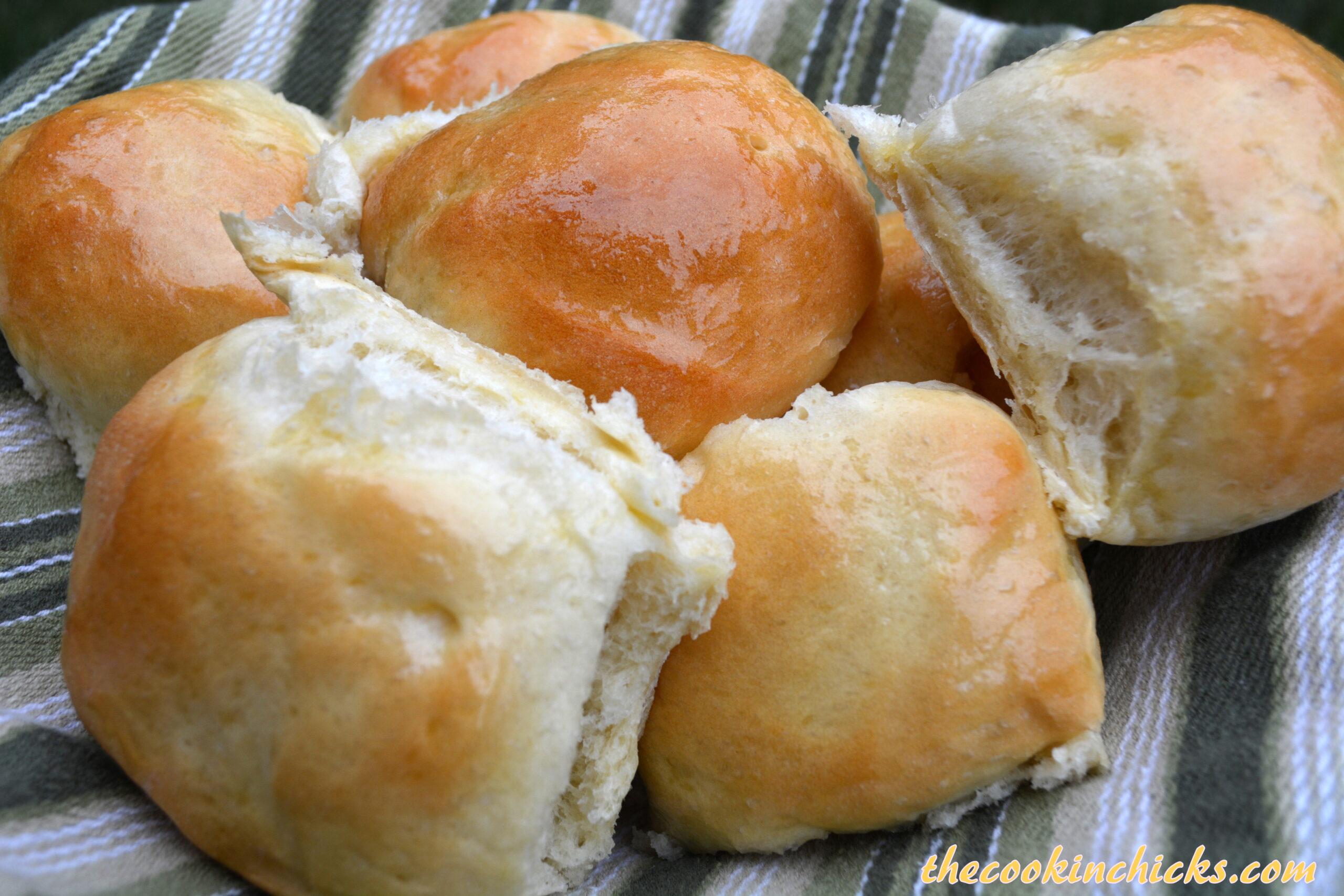 dinner rolls in bread machine
