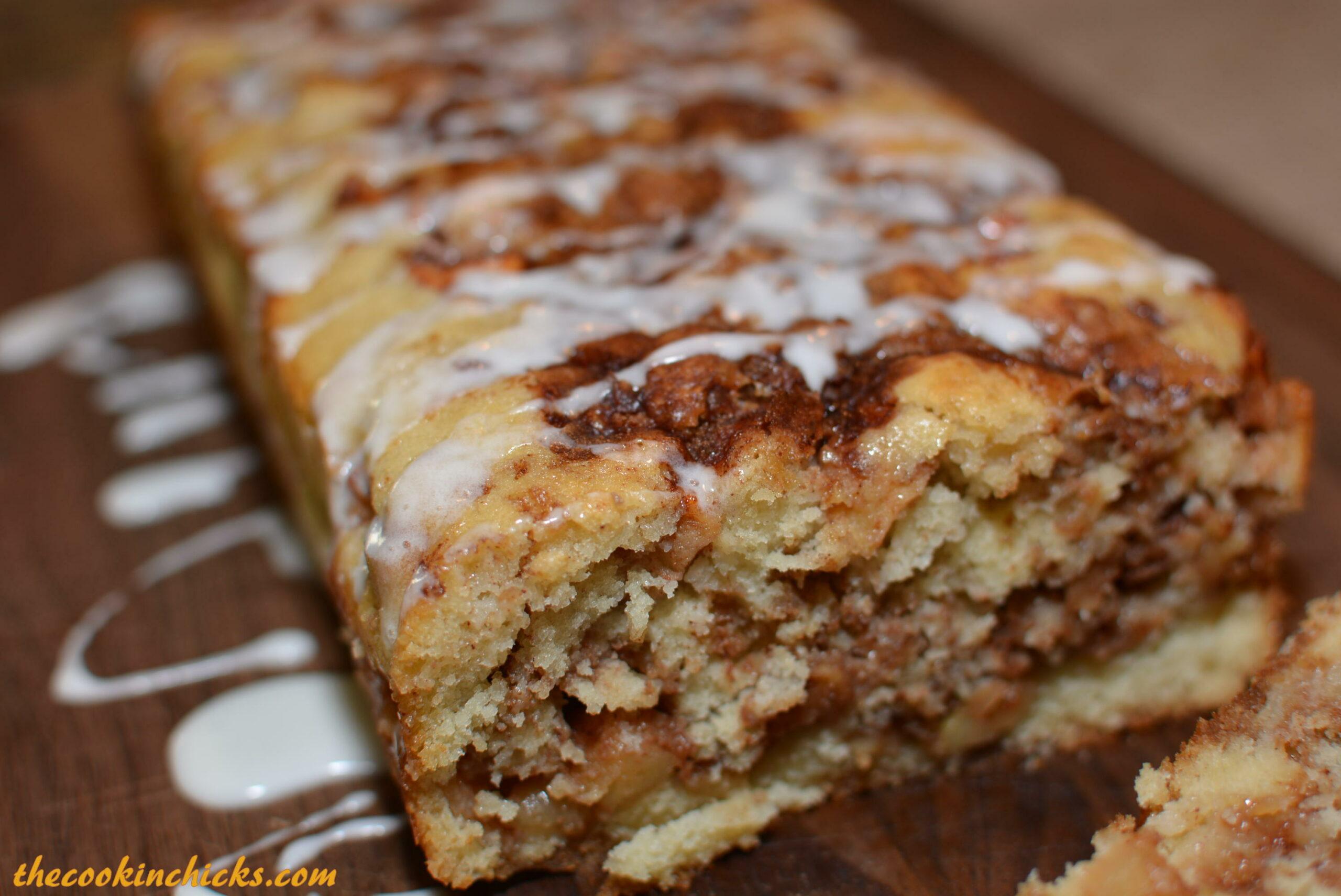 Apple Fritter Bread - pinterest.com