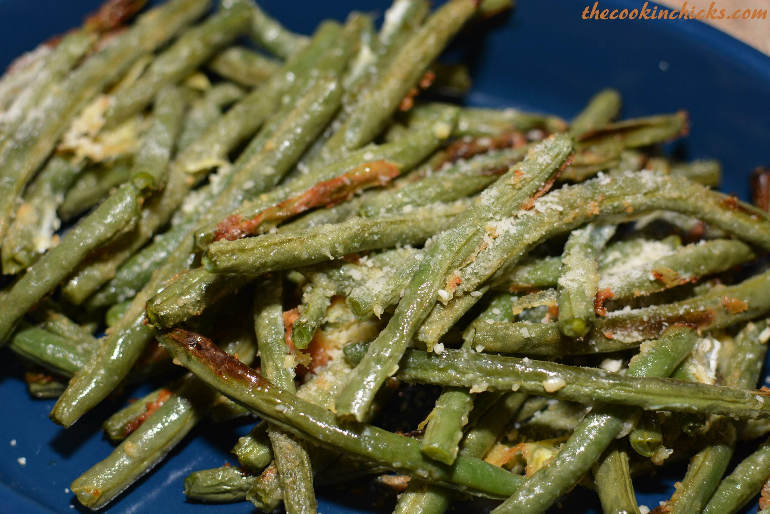 Asian garlic green beans simpsons