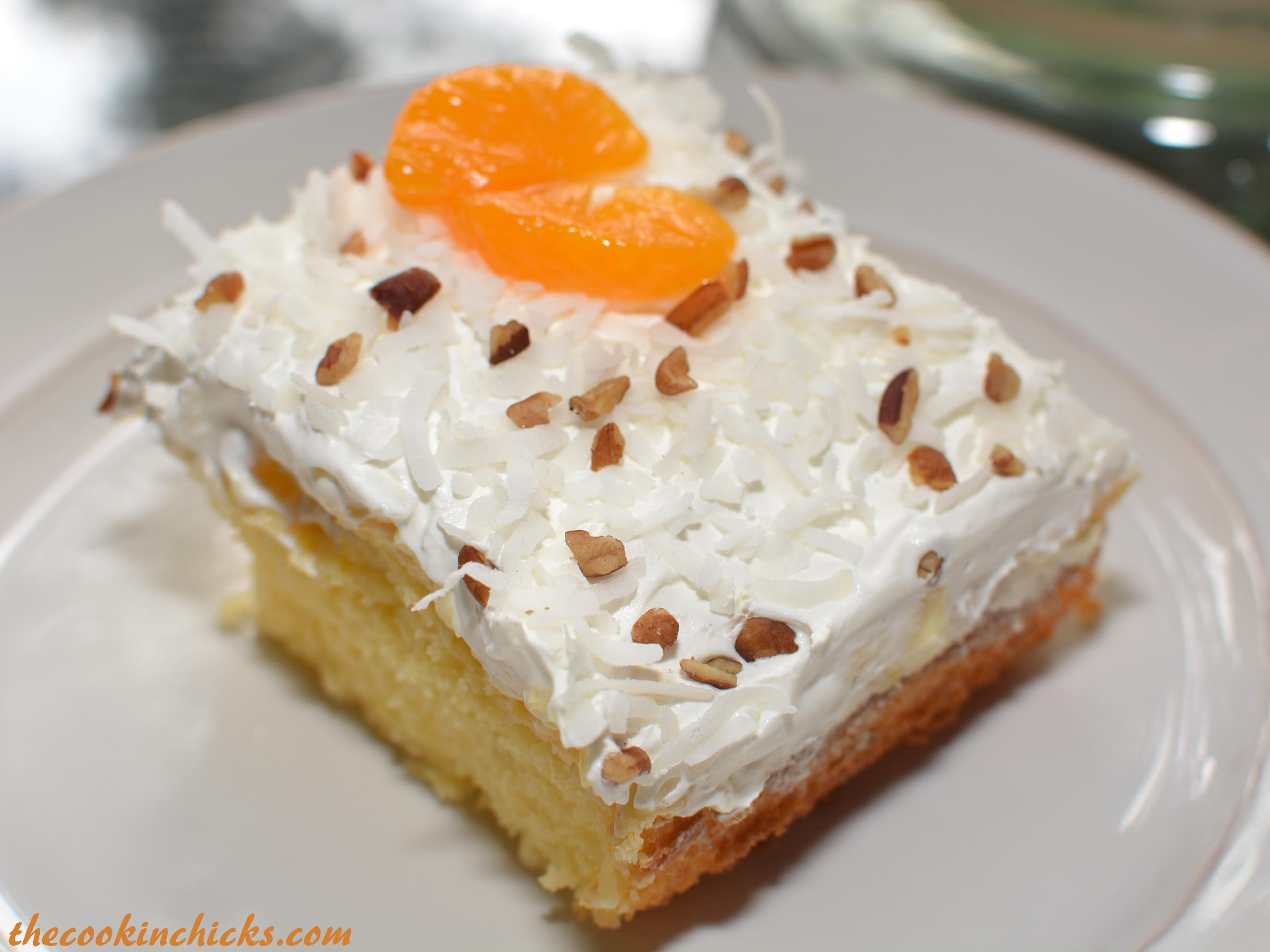 Hawaiian Cake Recipe With Mandarin Oranges