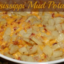 Mississippi Mud Potatoes