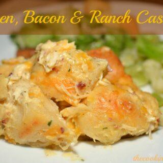 Chicken, Bacon & Ranch Casserole