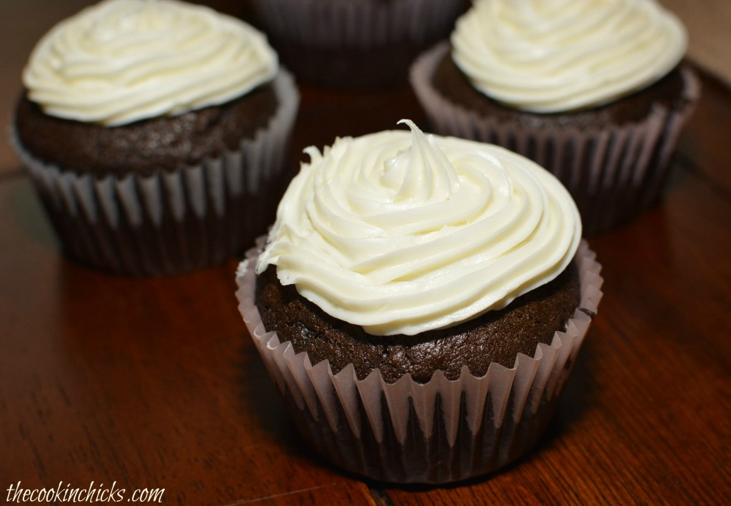 Chocolate Mayonnaise Cupcakes