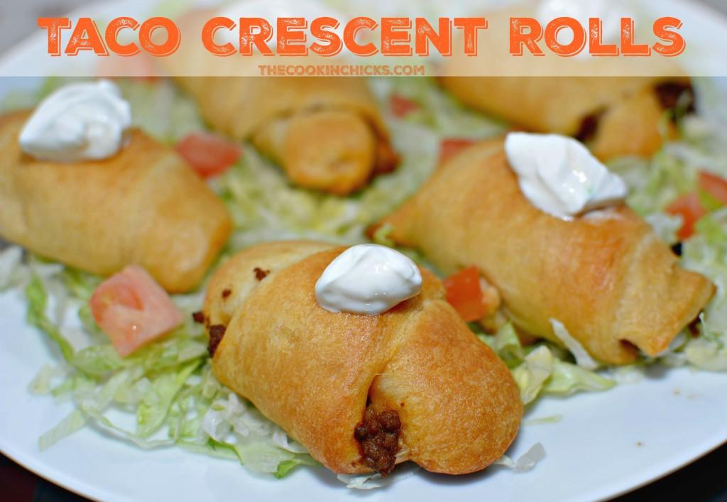 Taco Crescent Rolls