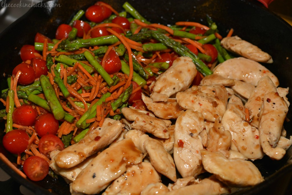 Balsamic Chicken & Veggies