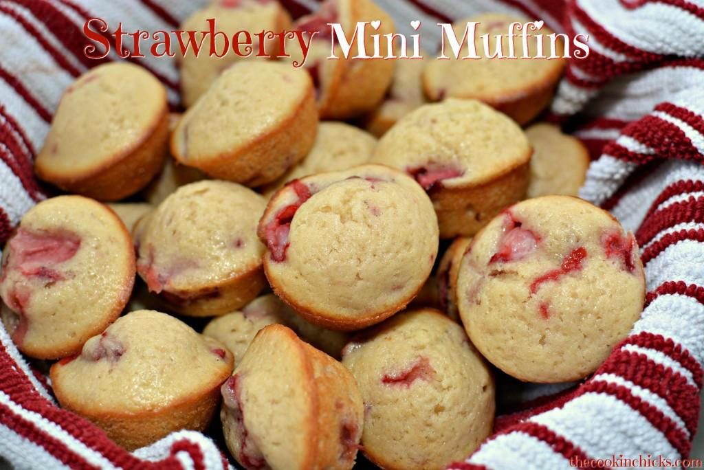 Strawberry Mini Muffins