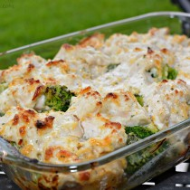 Chicken, Broccoli, and Potato Casserole