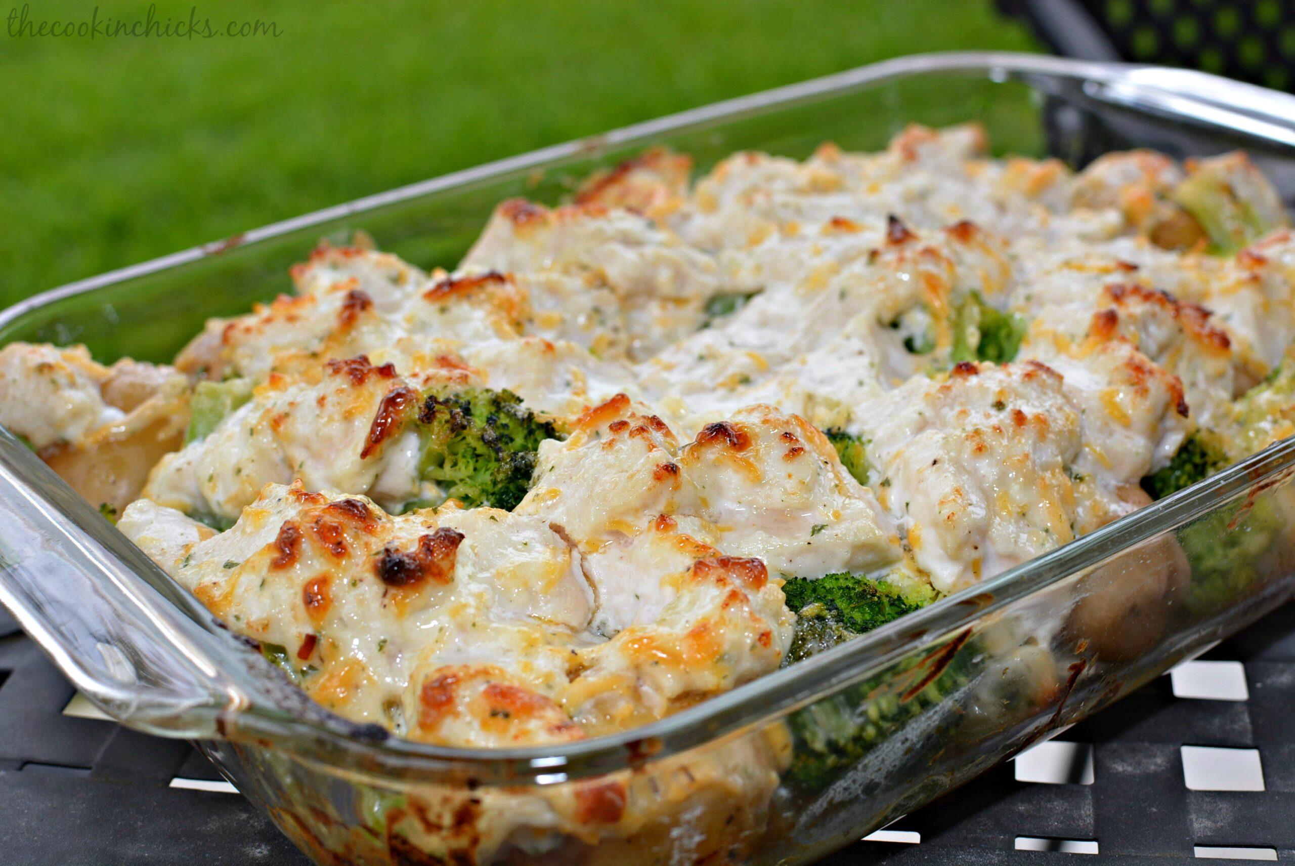 Chicken, Broccoli and Potato Casserole | The Cookin Chicks