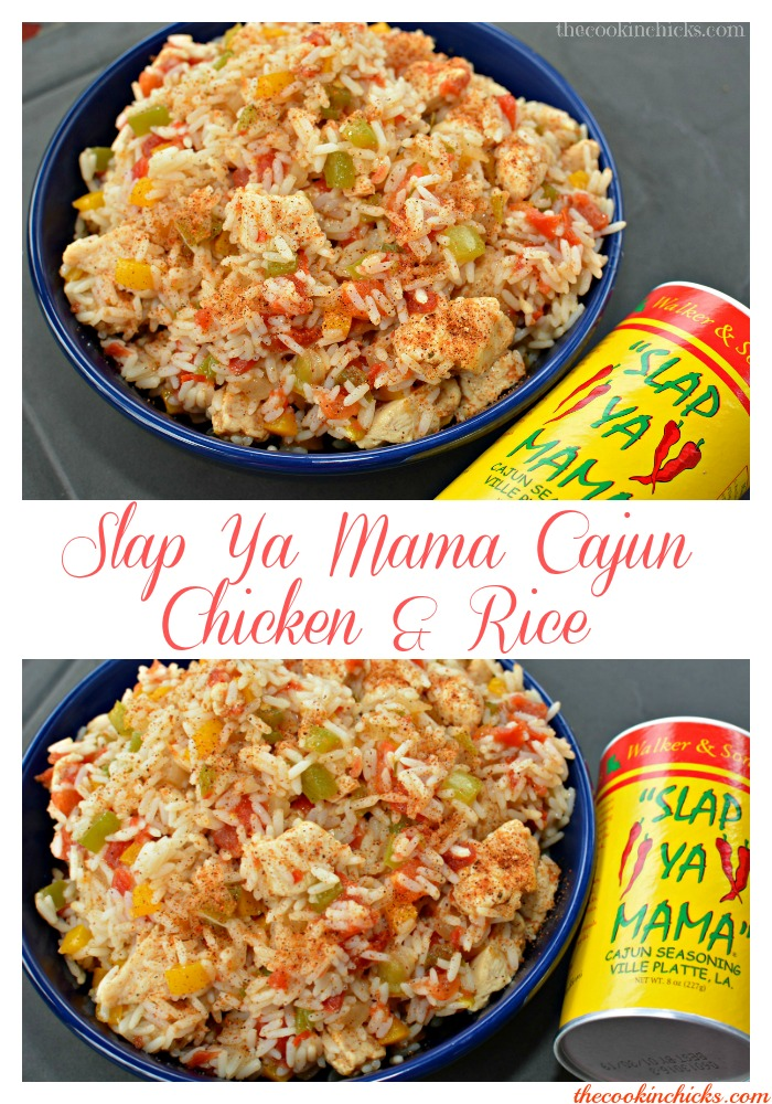 Slap ya mama Cajun Chicken and Rice
