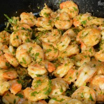 Garlic Cilantro Shrimp