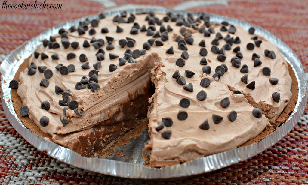 Chocolate Frozen Mudslide Pie