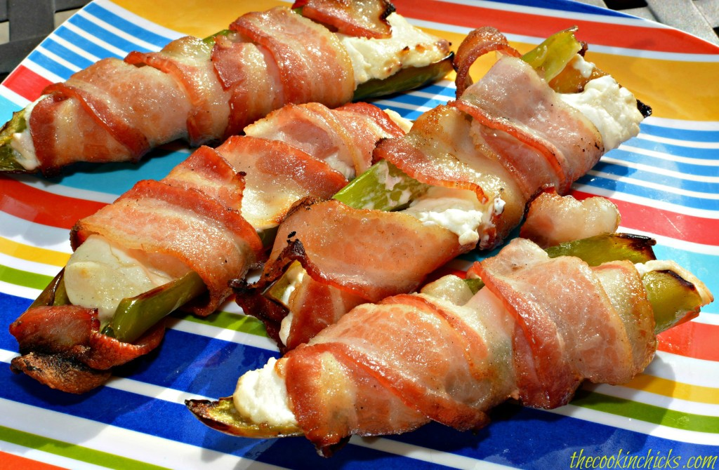 Bacon Wrapped Hatch Peppers
