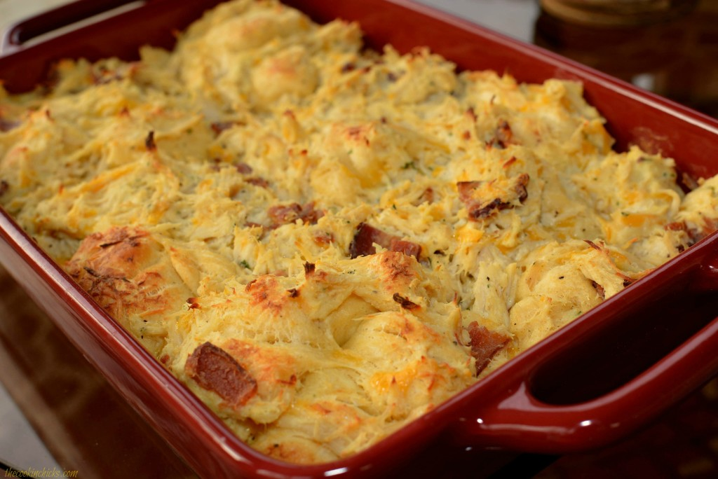 Chicken Bubble Up Bake