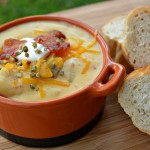 tender potatoes in a creamy broth