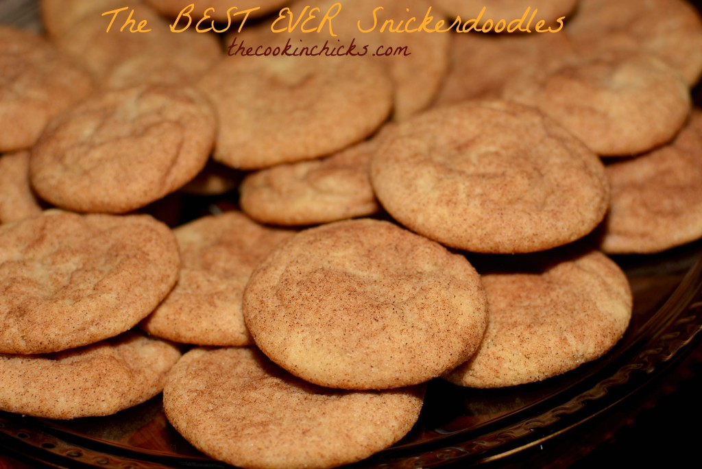 The BEST EVER Snickerdoodles