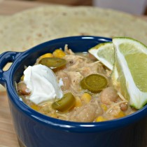 Creamy White Chicken Chili