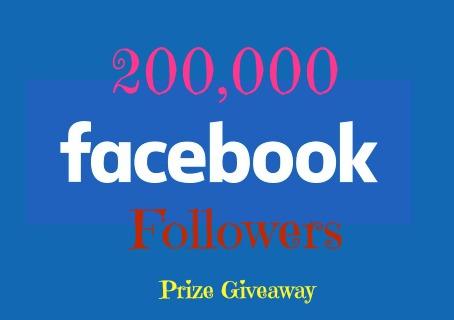200k Prize Giveaway