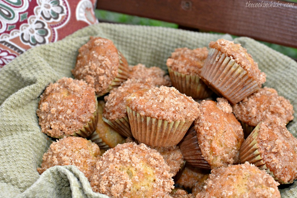 Mini Cinnamon Banana Muffins
