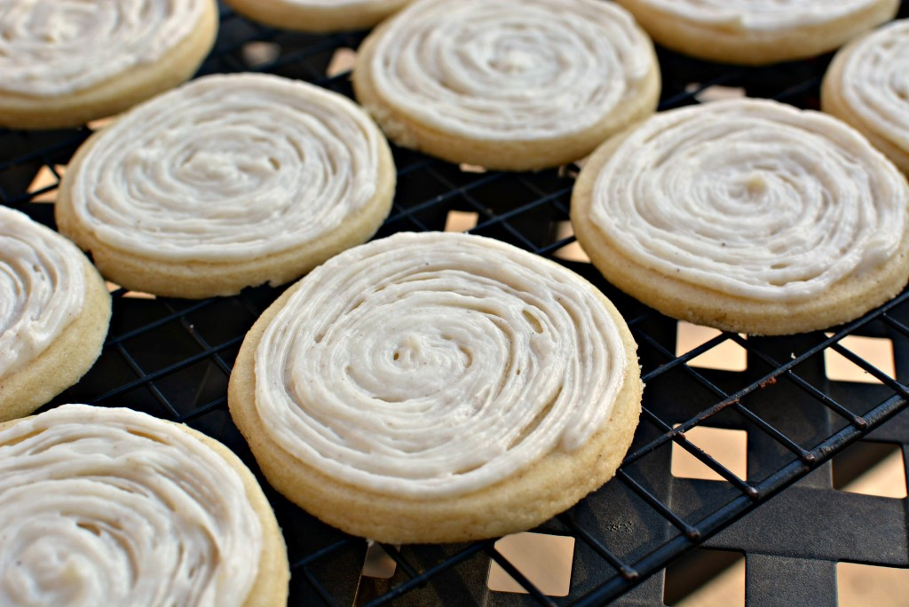Cinnamon Roll Sugar Coookies