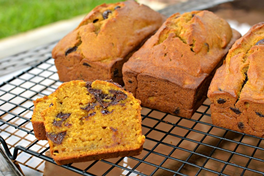 quick bread with fall flavoring in every bite
