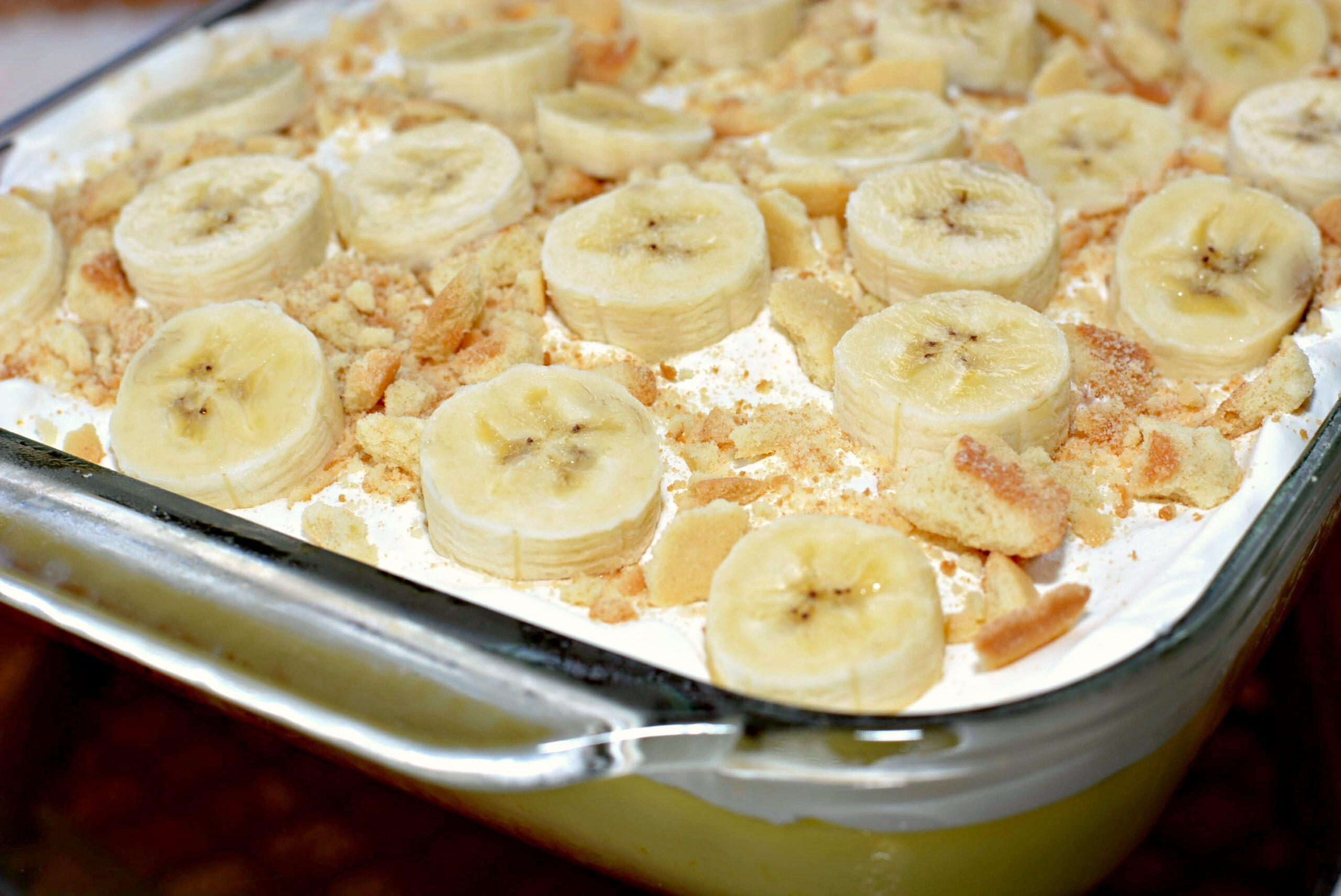 Banana Poke Cake Tasty