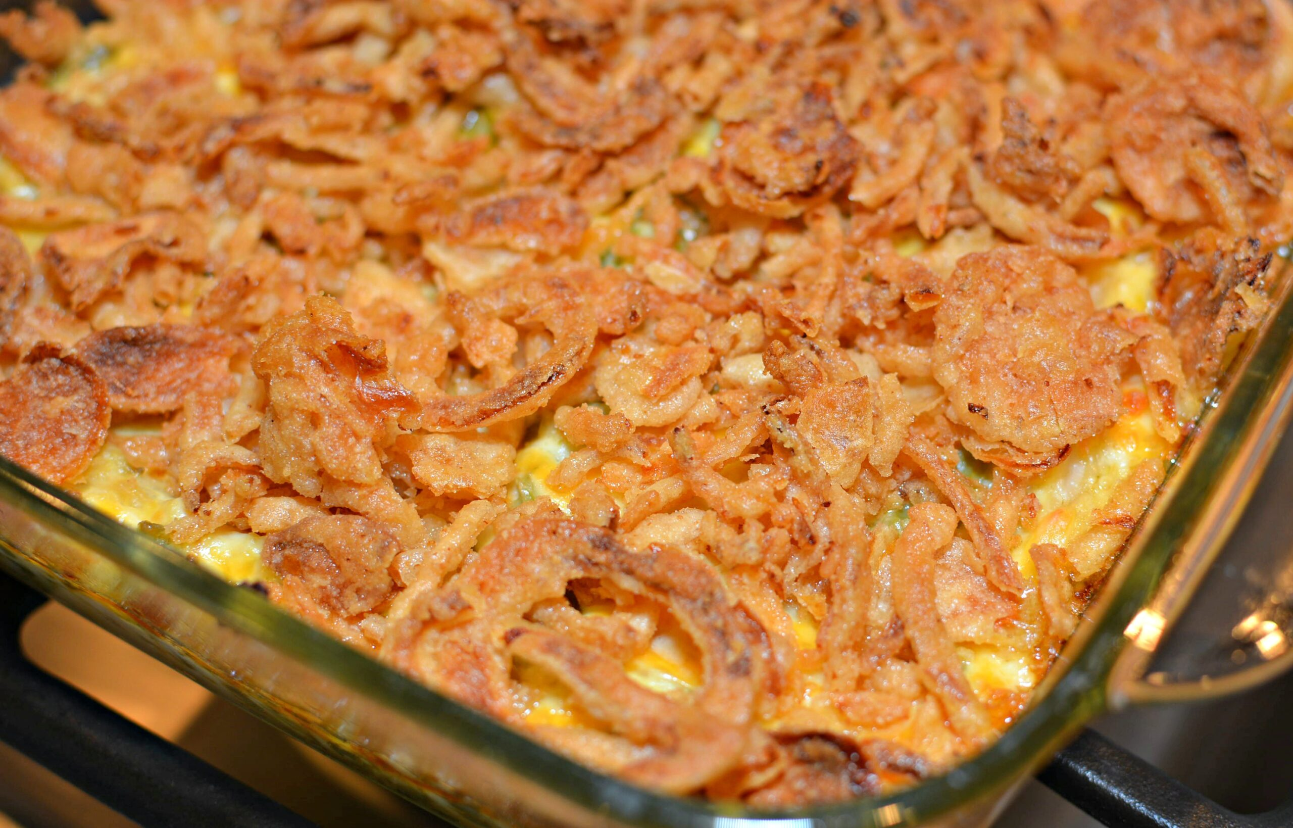 French Onion Chicken Casserole - The Cookin Chicks