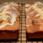 cinnamon sugar throughout a moist, fluffy bread with a tasty glaze on top