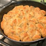 flavorful biscuits cooked in a cast iron skillet