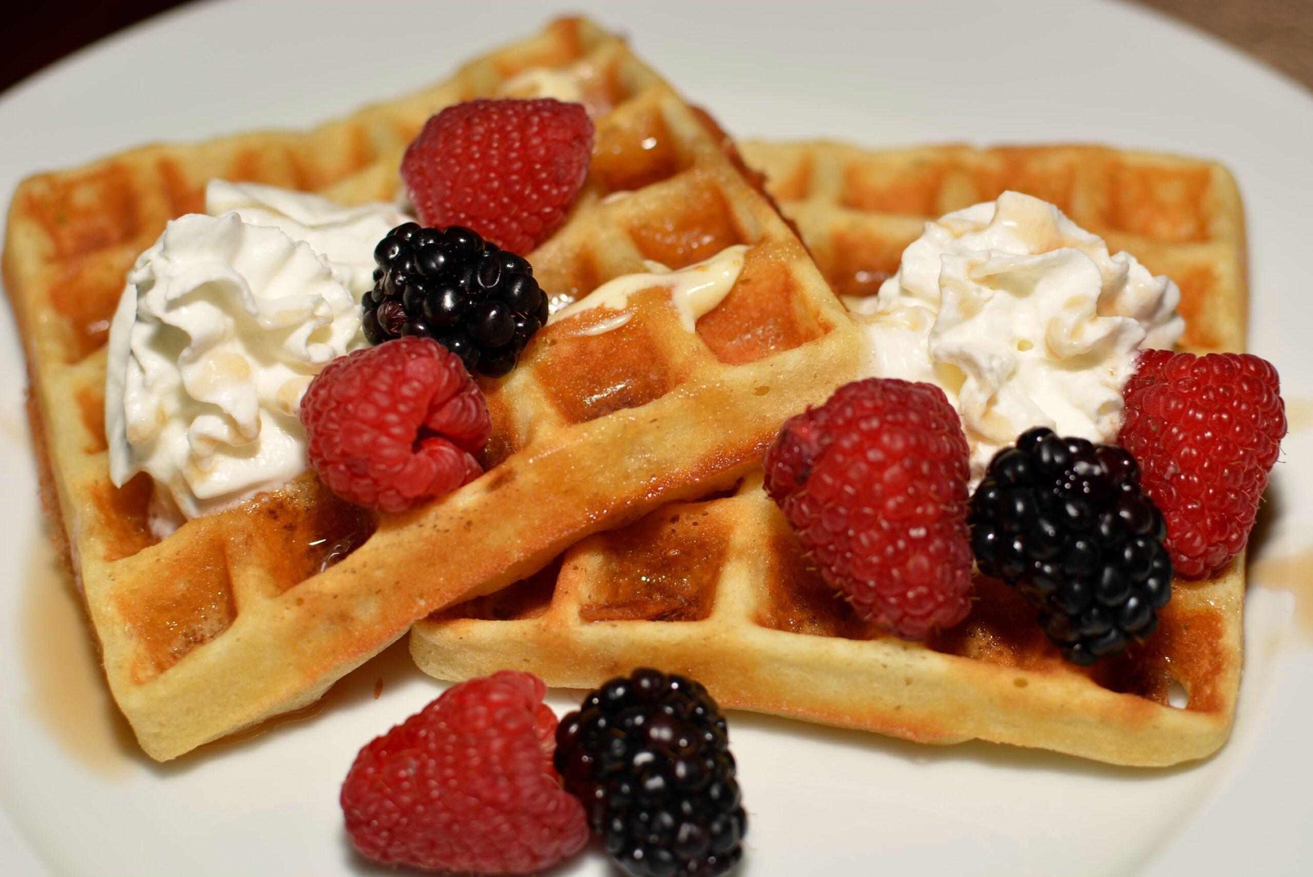 Homemade Belgian Waffles - The Cookin