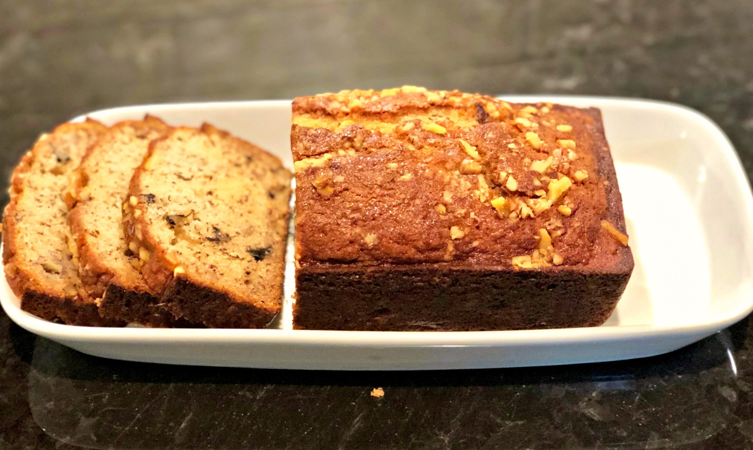 01b3ecd72bc Old Fashioned Banana Bread - The Cookin Chicks