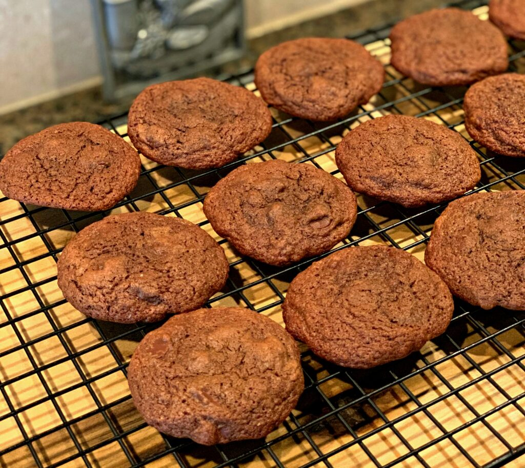chocolate packed cookies that literally melt in your mouth