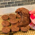 chocolate cookies with fudge like flavors throughout
