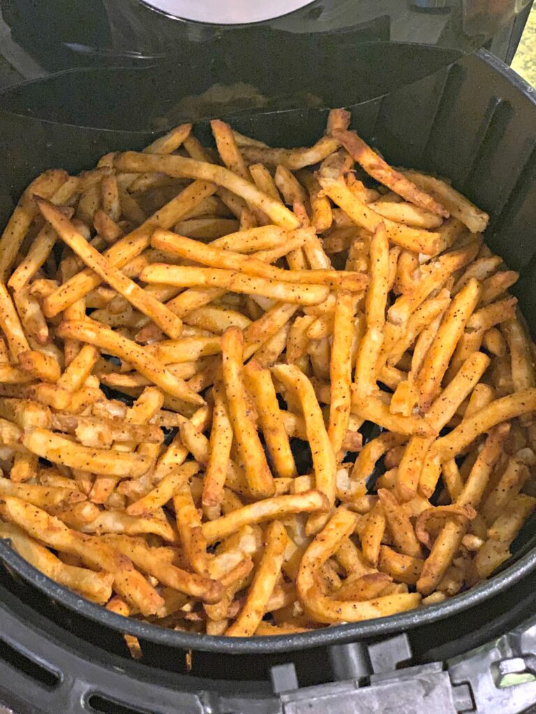 Air Fryer Frozen French Fries - The