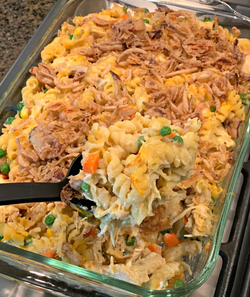 Serving up Back To School Casserole